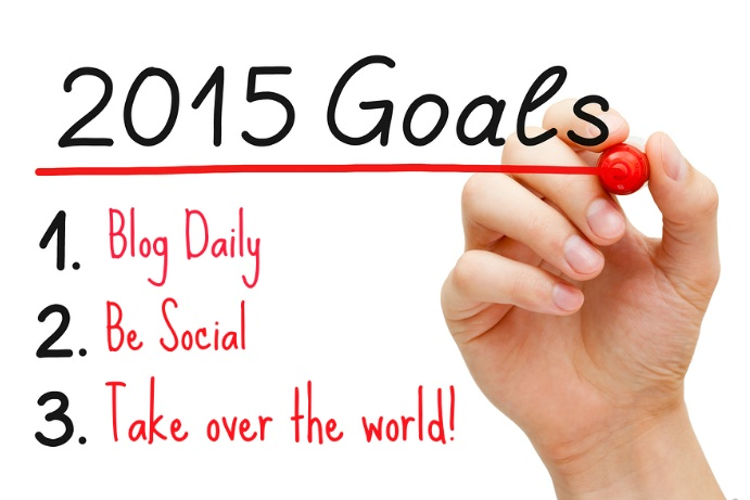 Why Your 2015 Business Goals Should Be To Blog Daily And Be Social